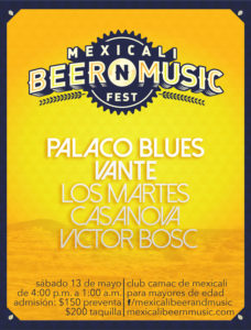 Mexicali Beer N Music Fest @ Club Camac