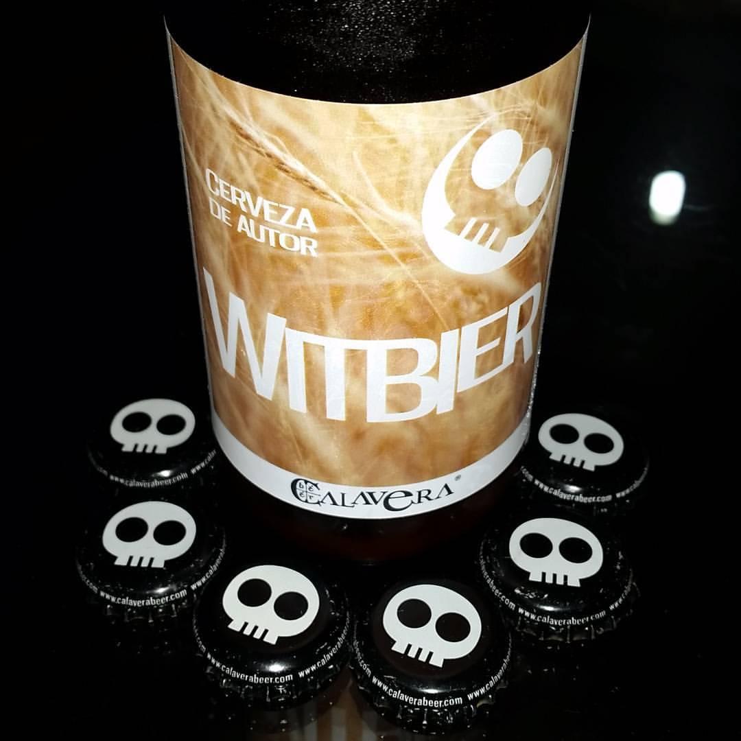 Cerveza mexicana calavera